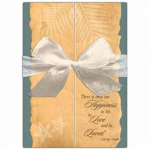 vintage paper gatefold beach wedding invitations paperstyle With gatefold wedding invitations blank