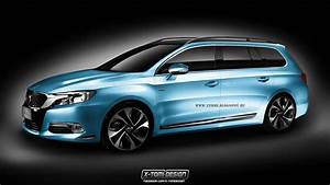 Citroen C4 Break : citroen ds premium class break estate imaginatively rendered autoevolution ~ Gottalentnigeria.com Avis de Voitures