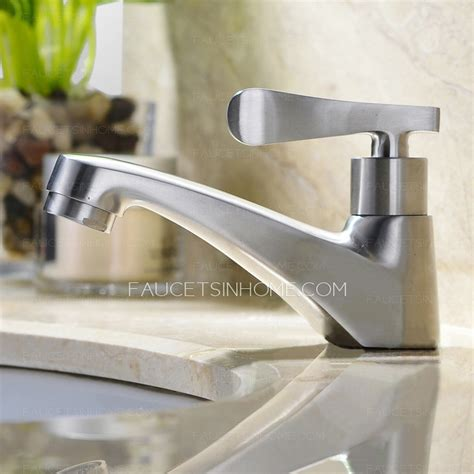 Modern Stainless Steel Bathroom Faucets by Modern Stainless Steel Nickel Brushed Bathroom Faucet
