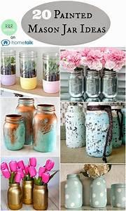 126 best painted mason jars images on pinterest mason With what kind of paint to use on kitchen cabinets for mason jars candle holder