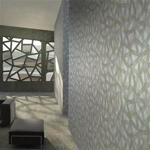Papier Peint Moderne Salon : une ambiance futuriste dans mon salon blog deco indoor ~ Melissatoandfro.com Idées de Décoration
