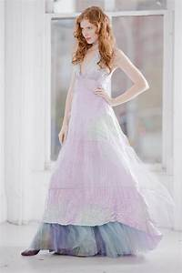 ombre pastel wedding dress onewedcom With ombre wedding dress