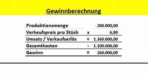 Herstellkosten Berechnen Excel : kosten leistungsrechnung wissenschaft und tachnik ~ Themetempest.com Abrechnung