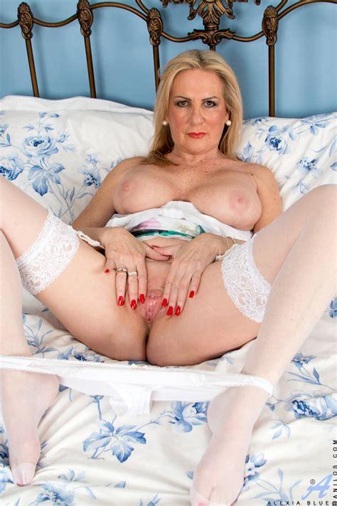 Anilos.com - Freshest mature women on the net featuring Anilos Alexia Blue milf cum