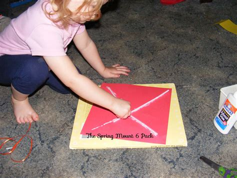 a kite toddler tuesday the mount 6 pack 979 | Make a kite with construction paper fun crafts for toddlers and preschool age kids 9