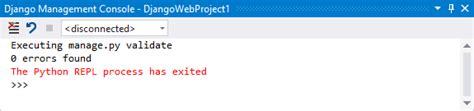 collectstatic files app templates django web project template for python visual studio