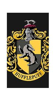 Hufflepuff house crest - Hufflepuff - Sticker | TeePublic