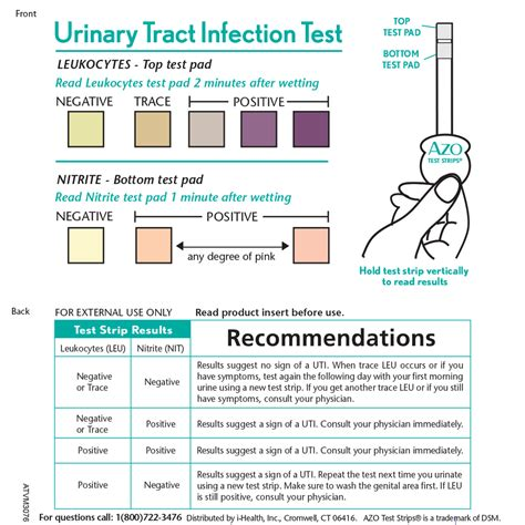 66153 Azo Urinary Relief Coupon by Azo Test Strips 174 Help You Detect If You A Uti