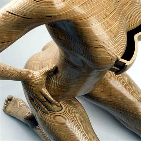 modern furniture    wood   study interior