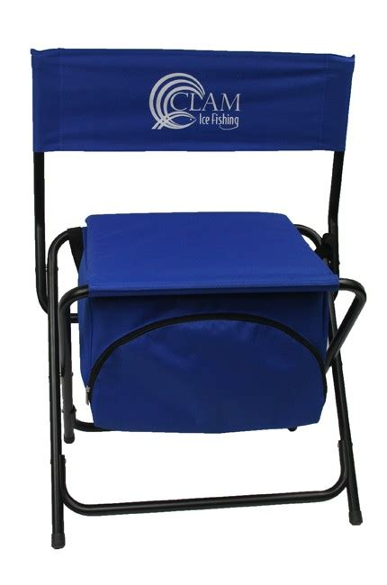 clam chair fishing seat clam folding cooler chair kabele s trading post