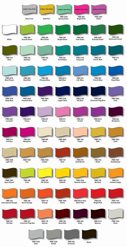Nylon Fabric Chart