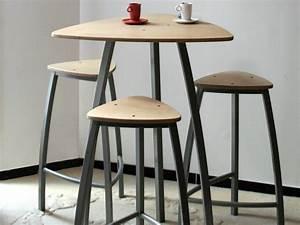 Table Haute Design : delta table haute by collection maison design arielle d ~ Teatrodelosmanantiales.com Idées de Décoration