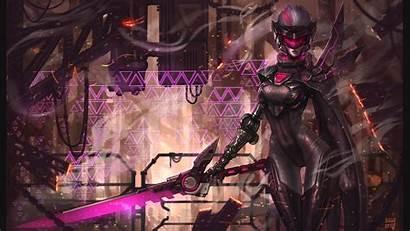 Fiora League Legends Cyberpunk Project Wallpapers Px