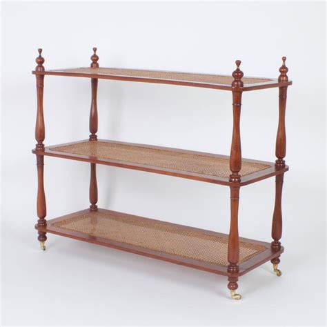 Etagere Shelves by Three Tiered Antique Shelf Etagere Or Set Of Shelves