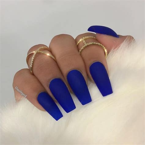 The 25 Best Royal Blue Nails Ideas On Pinterest To Easy