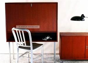 Möbel 60er 70er : 60er sekret r teak orig wk m bel schreibtisch sideboard danish design 70er knoll ~ Markanthonyermac.com Haus und Dekorationen