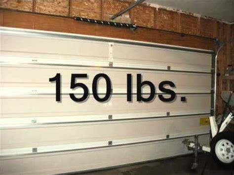 garage door fundamentals torsion spring counterbalance youtube