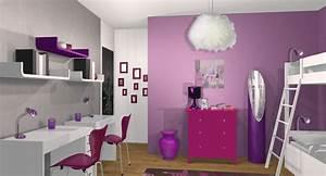 decoration chambre pour deux filles visuel 7 With chambre pour 2 filles