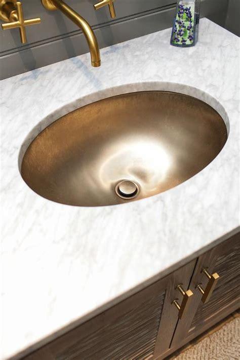 oak bath vanity  tassel hardware trim transitional