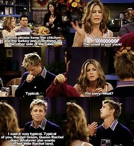 Brad Pitt and jennifer aniston in friends | Friends TV ...