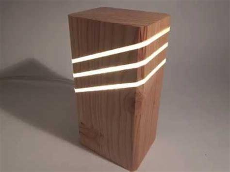 wood lamp design youtube