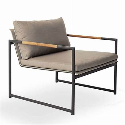 Outdoor Lounge Contemporary Armchair Yliving Taupe Chair