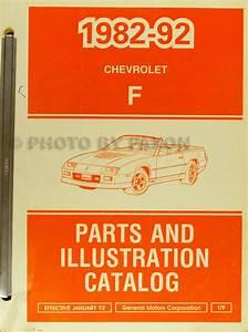 1991 Chevy Camaro Repair Shop Manual Original