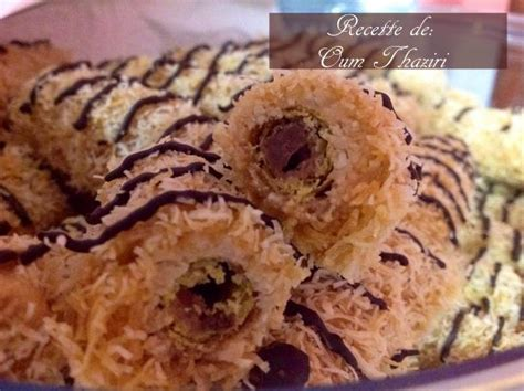 recette de cuisine kabyle cigares de gaufrettes aux qtayefs amour de cuisine