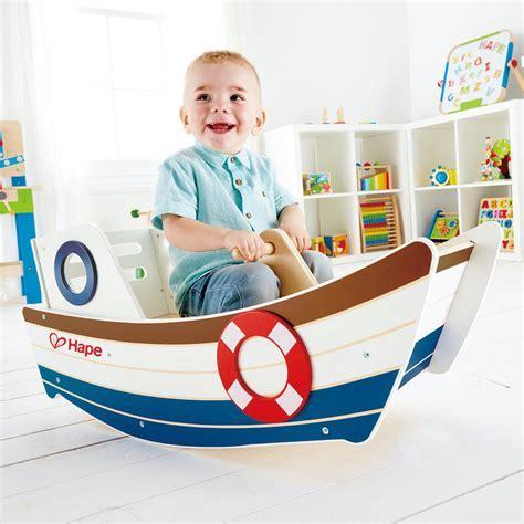 Leo & Bella   Hape High Seas Rocking Boat