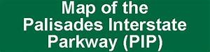 Map Of The Palisades Interstate Parkway  Pip