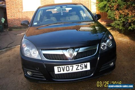 vauxhall vectra sri 2007 vauxhall vectra sri cdti 150 for sale in the united
