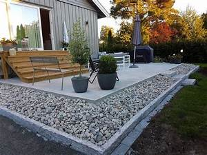 Modele de terrasse exterieur beton promesse dune for Modele terrasse exterieur