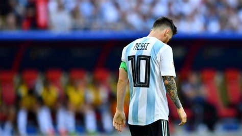messi   decision  argentinas future daily post