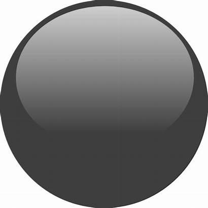 Icon Grey Button Glossy Clipart Clip Vector