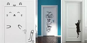 22 idees pour decorer les portes d39interieur bnbstaging With decorer porte de placard