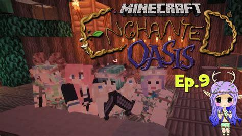 enchanted  minecraft enchanted oasis ep  youtube
