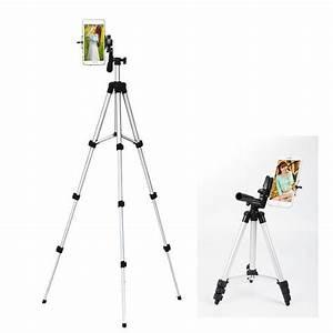 Professional Camera Tripod Stand Holder with Tripod Bag Adjustable,Retractable Aluminum Tripod ...