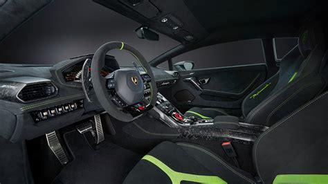 2017 Lamborghini Huracan Performante Interior Wallpaper