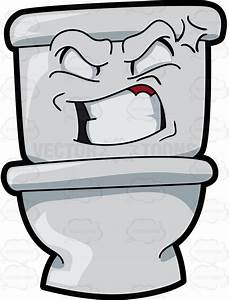 Cartoon Toilet Clipart | Free download on ClipArtMag