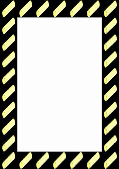 Borders Frames Clip Clipart Menu Frame Border