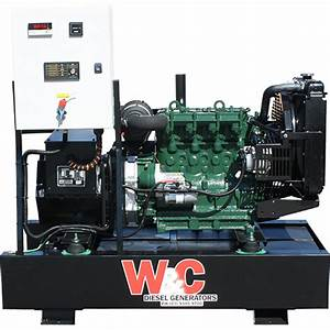 16 5kva  3 Phase  Diesel Standby Generator With Lister