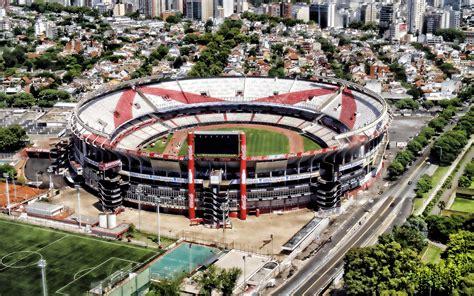 River Plate Stadium, Aerial View, Estadio Monumental ...