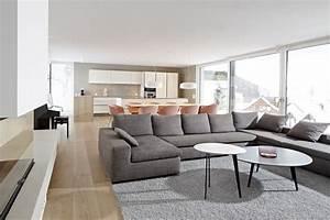 Wohnzimmer Mit Essbereich : kundenreferenz architektenhaus mit exklusiver einrichtung und klaren formen ~ Watch28wear.com Haus und Dekorationen