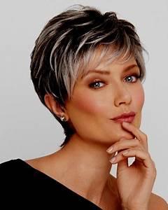 Coupe Cheveux Gris Femme 60 Ans : coupe de cheveux court femme 50 ans 2019 ~ Voncanada.com Idées de Décoration