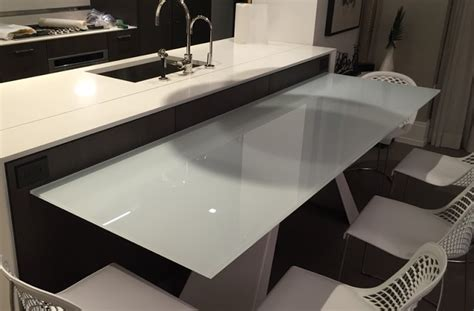kitchen sink table top glass table tops all purpose glazing