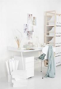 my scandinavian home: A beautiful office in white and ...