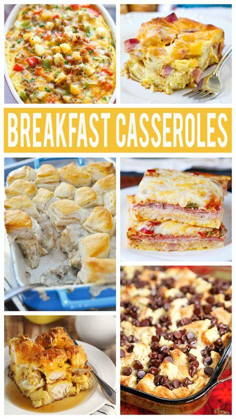 great brunch recipes the best breakfast casserole recipes eighteen25