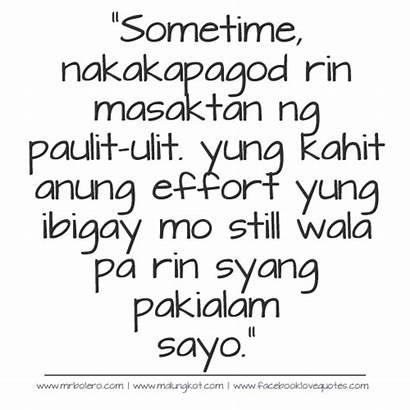 Tagalog Quotes Sad Effort Patama Selos Lines