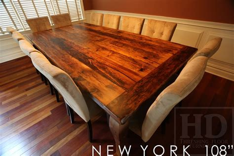Large Reclaimed Wood Harvest Table in New York State   Blog