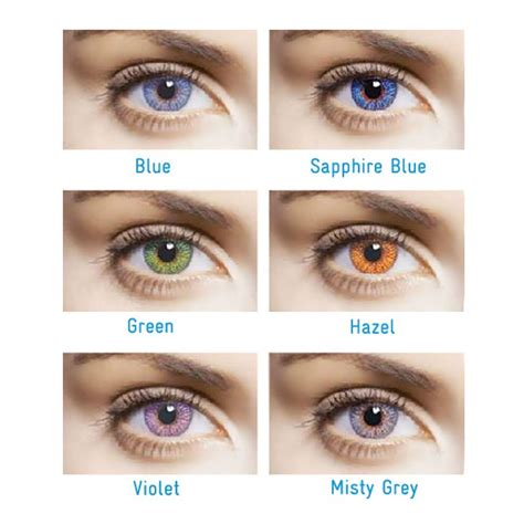 freshlook colored contacts freshlook color contact lenses with graduation by ciba vision